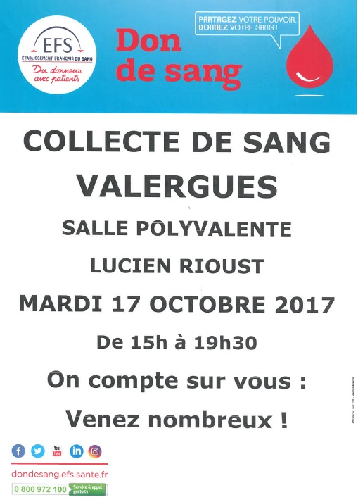 collecte adsv don du sang sept 2017